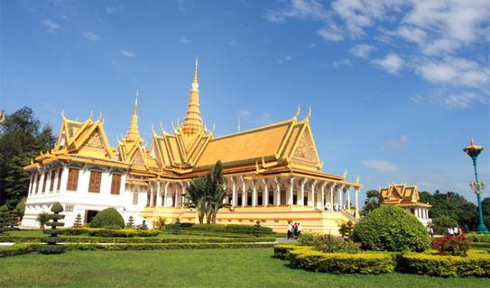 Комплекс Королевского дворца, Пномпень.